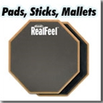Pads, Sticks, Mallets