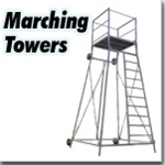 Marching Band Director Towers