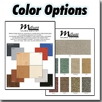 Fabric & Wood Color Options