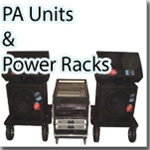 PA Units, Power Packs
