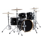 DDrum Dom Maple 5PC Shell Kit #DM22BLK