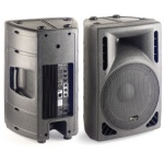 Stagg 220 Watt Bi-Amp Powered Speaker #SMS15PUSA
