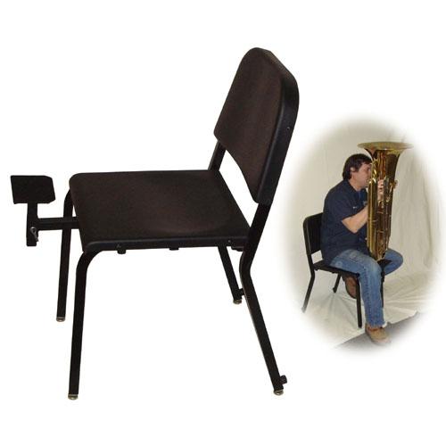 Adjustable Tuba Rest For Posture Chair Melhart Music Center - Posture chair