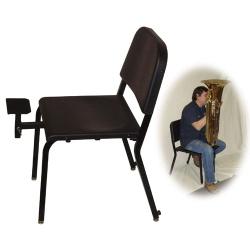 Adjustable Tuba Rest For Posture Chair Melhart Music Center