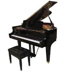 "Baldwin 5'5"" Professional Grand Piano with Bench #BP165HPE"