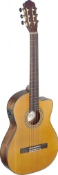 Angel Lopez Silvera series 4/4 cutaway acoustic-electric classical guitar #SILTCEM