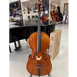 Antonio Guarnieri Intermediate Student Cello Outfit AGC500 4/4 #AGC50044