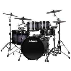DDrum Max 522 Maple/Alder 5 Pc Ltd Shell Kit #MAX522PURSPKLTD