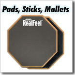 Pads, Sticks & Mallets