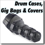 Drum Cases, Gig Bags & Covers
