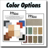 Wood & Fabric Color Options