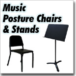 Music Posture Chair and Stands