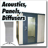 Acoustic Panels, Diffusers
