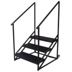 3 Step Stairs for 24 or 32 Height Risers - #3SS