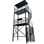 Directors Tower Dual Platform - Spiral Staircase - #DTDPSS