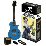 J. Reynolds Kids Electric Guitar Pack-Blue