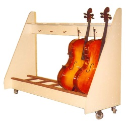 6 Unit Cello Storage Rack - #C6SR