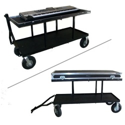 Deluxe Field Keyboard Cart - #DFKC