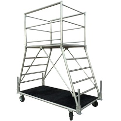 6' Portable Drum Major Podium *Folds for Storage