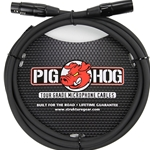 Pig Hog 3 FT Microphone Cable