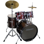 Adamson 5PC Complete with cymbals #ADS900C