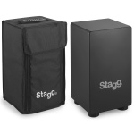 Stagg Small Sized Cajon Black #CAJ40SBK