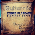 Guadalupe Guitarron Silvered Copper String Set #GRN1SC