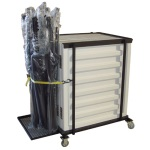 Acoustic Shell Cart for 5 Units