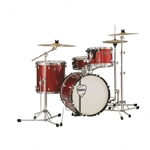 "Peace X4 Monterey 4Pc Kit w/18"" BD Red Sparkle #DPX41845"