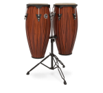 Latin Percussion City Series Conga Set with Stand #LP646NYCMW