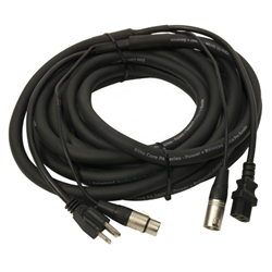 Yorkville 25 Ft AC Cable w/ Parallel XLR