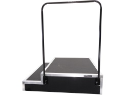 Melhart Modern Conductor Podium with Rail - #MCP